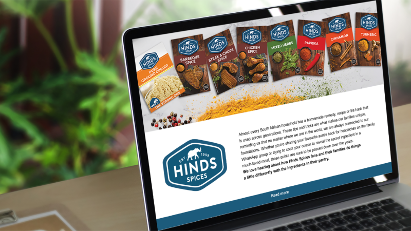 Gallant Marketing Group - Hinds Spices - Newsletter