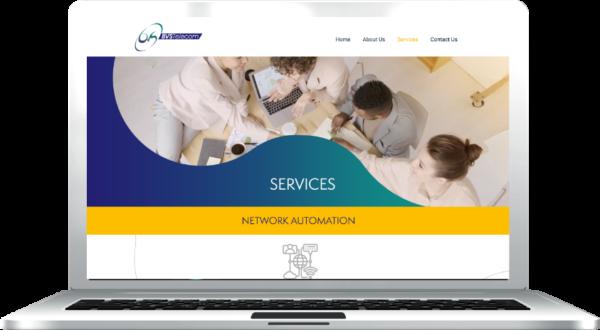 Gallant Marketing Group - BVS Telecom - Website Design and Develpment - Example