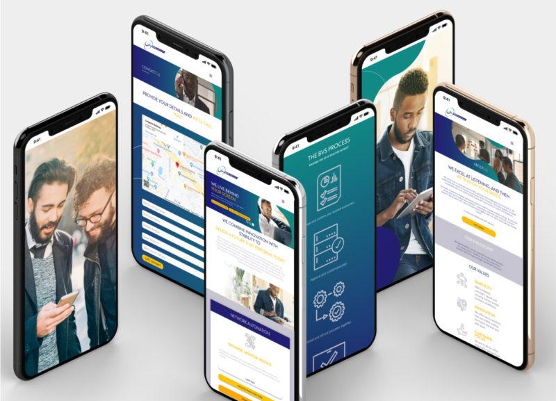 Gallant Marketing Group - BVS Telecom - Responsive Mobile Site
