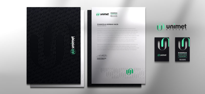 Gallant Marketing Group - Unimet Systems - Corporate Identity - Example 3