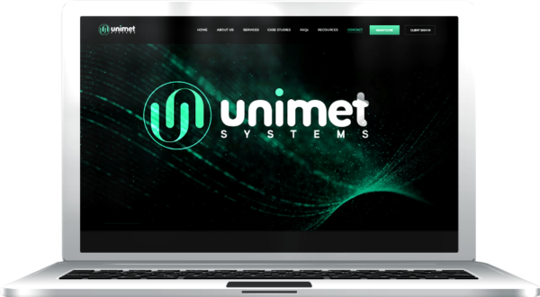 Gallant Marketing Group - Unimet Systems - Website - Example 1