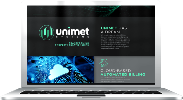 Gallant Marketing Group - Unimet Systems - Website - Example 3