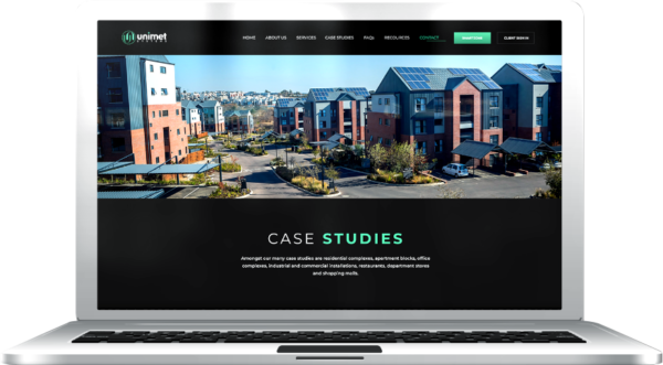 Gallant Marketing Group - Unimet Systems - Website - Example 4